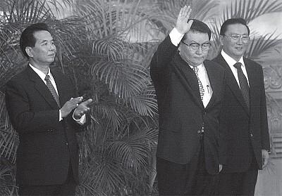 李長春鄭州傍上江澤民的內幕