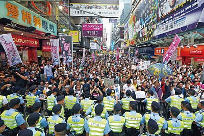 路見不平的林老師 引爆香港反共潮