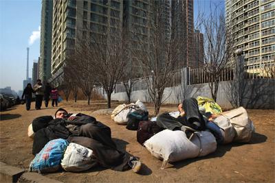 中國城鎮化政策的陷阱