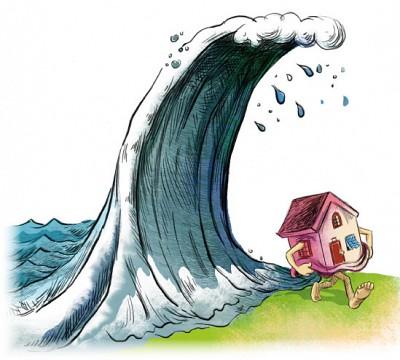 樓價股票暴跌 開發商開始逃命
