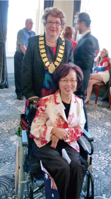 >為澳大利亞中風患者帶來歡笑與希望的華裔女性