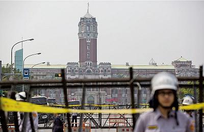 以經綁政 中共黑手入侵中華民國總統府