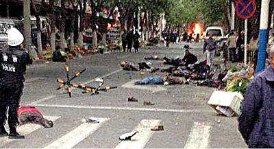 刀砍、車撞、大爆炸! 大陸暴恐襲擊頻發 京城草木皆兵