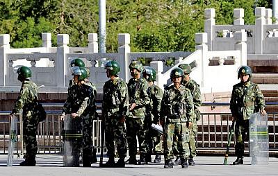 烏市爆炸後北京緊張 直升機投入一級防控