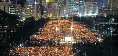 「六四」事件真相 全球祭「六四」屠殺 香港悼念破紀錄