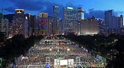 香港是中國的「自由西柏林」