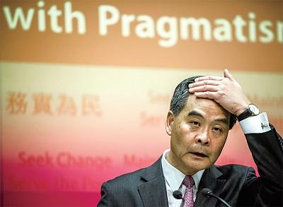 香港成為中南海生死對決主戰場 北京出手 梁振英被控