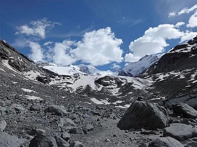 天涯遊蹤 緩慢死亡的瑞士冰川