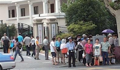 上海大媽們都在痛罵江澤民