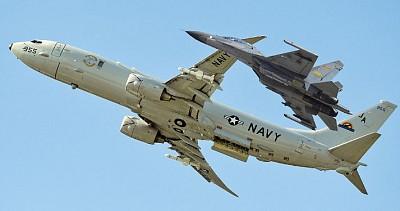中美戰機險撞 中共分裂 美一日三行動
