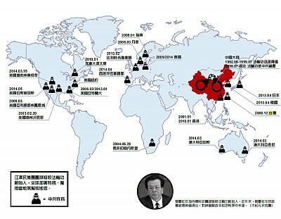 曾慶紅在海外構陷並圖謀暗殺法輪功創始人
