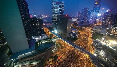 香港「雨傘運動」全程圖片輯