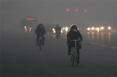 美國人看北京的霾