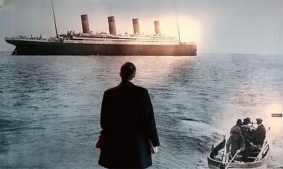 >愛永不沉沒 泰坦尼克的巨富們感動後世