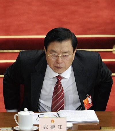 張德江人大委員長職務被舉報無效