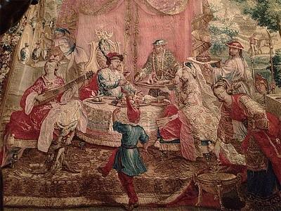 17世紀法國壁毯的中華元素
