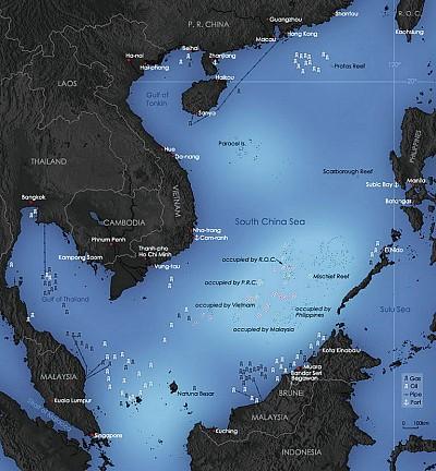美中臺在西太平洋的微妙互動