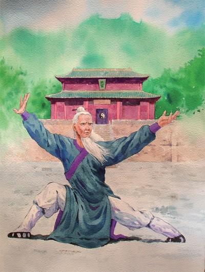 神仙中人張三豐 創太極留修煉文化於世間
