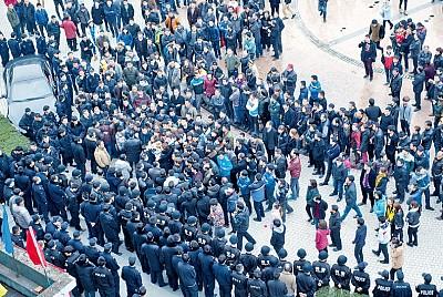 中國工廠勞工結構變化 工人抗議轉型