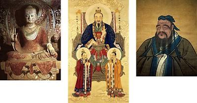 儒釋道思想創中華五千年輝煌歷史