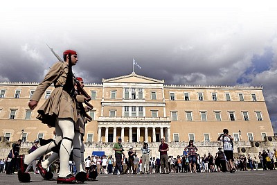 債務危機下的希臘——