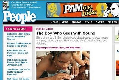 挑戰觀念 失明男孩用聲音看世界