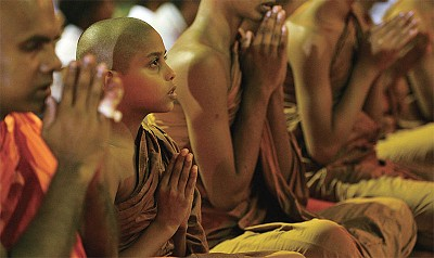 輪迴轉生 男童記得前世為僧侶