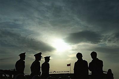 習閱兵後開始軍隊大改革