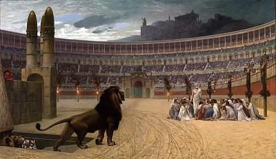 名畫描繪羅馬帝國的正邪較量(上)
