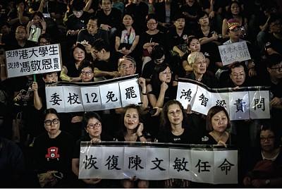 中共無形之手伸入香港校園