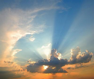 生死間 與光構成的生命體對話