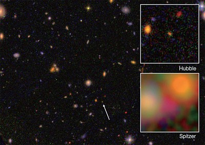 天文不斷發現古老星系