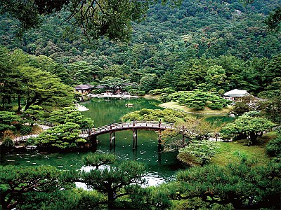 >天下名園 日本栗林公園