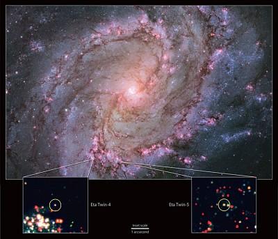 銀河系外大質量恆星爆炸 NASA首次發現