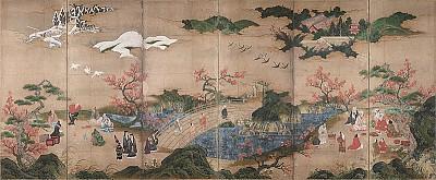 盧仝茶歌傳日本 茶翁仙亭煎清風