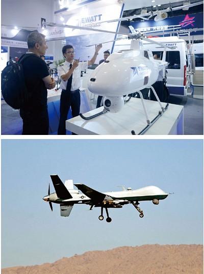 中共盜用了多少美軍無人機技術?