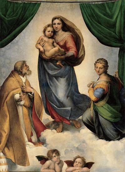 >聖母的描繪者——天使拉斐爾