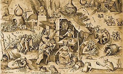大衛‧薩爾納的《人類貪婪史》