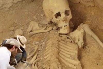 巨人骨骸持續出土 羅馬尼亞傳說是真