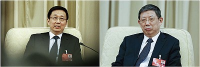 韓正楊雄被架空 上海官員私下談中共散夥