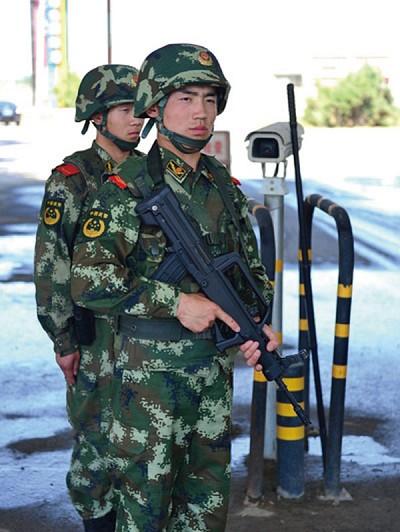 極不尋常的全國武警實戰大演習