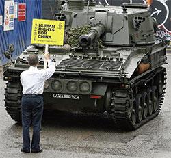 坦克人與代言人