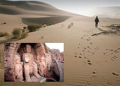 >石窟藝術的歷史隱語