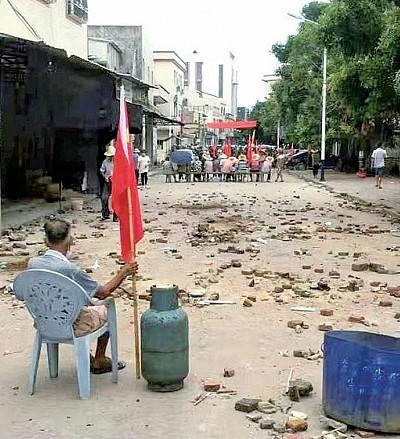 中共開槍鎮壓 烏坎村民怒斥:堪比日軍侵華