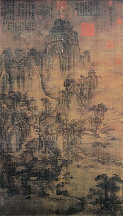 北方山水畫巨擘--荊浩〈匡廬圖〉