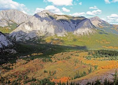 心靈悸動的秋遊──加拿大落磯山登高