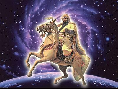 史錄中的「金剛轉輪」成吉思汗