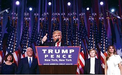 從政治素人到總統 川普再造傳奇