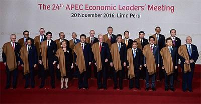 川普廢TPP關門 習藉RECP和FTAAP開門