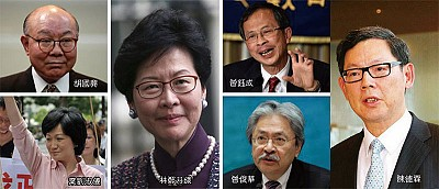 香港特首六大熱門人選分析